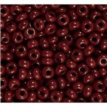 Margele de nisip Preciosa Ornela 6/0 19001/93310 Opaque Burgundy