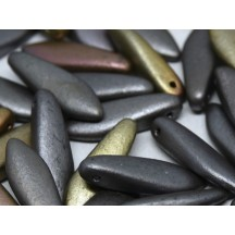 Margele Daggers 5x16mm 01670 Zinc Iris