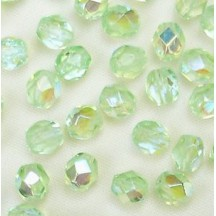 Margele Cehesti Fire-Polish 3mm X50500 Peridot AB