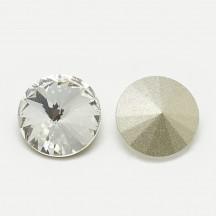 Rivoli Sticla 10x5mm Crystal