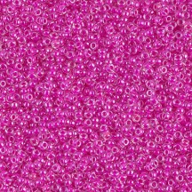Margele de nisip Miyuki 15/0  0209 Fuchsia Lined Crystal