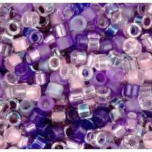 Delica 10/0 DB10Mix01 Mix Lilacs