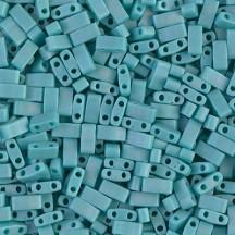 Miyuki Half Tila HTL0412FR Matte Opaque Turquoise