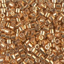 Delica 11/0 DB0411 Galvanized Gold Dyed