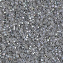 Delica 11/0 DB1770 Sparkling Pewter Lined Opal AB