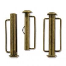 Inchizatoare 26.5mm Antique Bronze Slide Bar
