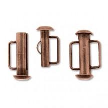 Inchizatoare 16.5mm Antique Copper Slide Bar
