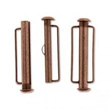 Inchizatoare 31.5mm Antique Copper Slide Bar