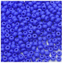 Margele de nisip Preciosa Ornela 8/0 19001/33040 Opaque Blue