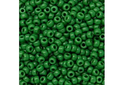Margele de nisip Miyuki 6/0 0411 Opaque Green