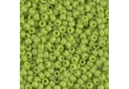 Margele de nisip Miyuki 8/0 0416 Opaque Chartreuse