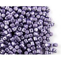 Minos Par Puca Metallic Suede Purple