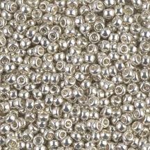 Margele de nisip Miyuki 6/0 1051 Galvanized Silver