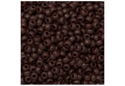 Margele de nisip Miyuki 8/0 0409 Opaque Chocolate