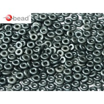 O Beads Alabaster Paste Dark Grey 25037