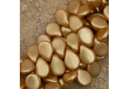 Margele Pip 5x7mm Alabaster Pastel Amber 25003
