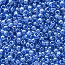 Margele Toho 11/0 1057 Inside Color Lt. Sapphire/Opaque Dark Blue