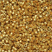Delica 11/0 DB1832 Duracoat Galvanized Gold
