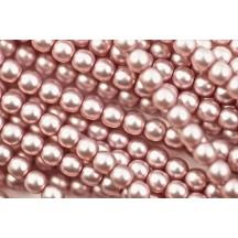 Perle Sticla Cehia 6mm Antique Pink 14244