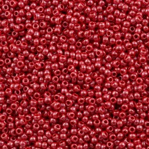 Margele Toho 11/0 125 Opaque Lustered Cherry