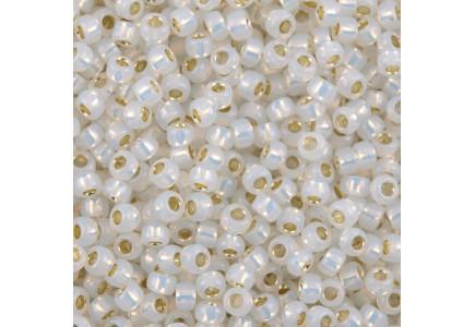 Margele Toho 11/0 2100 Silver Lined Milky White