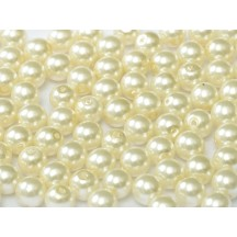 Perle Sticla Cehia 10mm Cream 12141