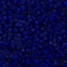 Miyuki Cube 3mm Opaque Cobalt Matted 0414F