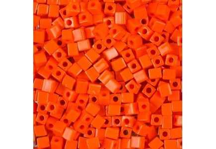 Miyuki Cube 3mm Opaque Orange 0406