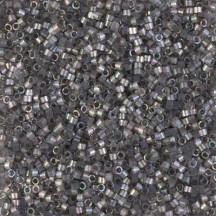 Delica 11/0 DB1872 Silk inside Dyed Rustic Grey AB