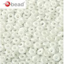 O Beads Chalk White 03000
