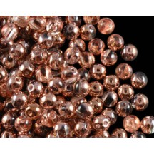 Rounduo 5mm Crystal Capri Gold 27101
