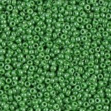 Margele de nisip Miyuki 11/0 0431 Opaque Green Luster