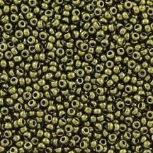 Margele de nisip Miyuki 11/0  0459 Metallic Olive