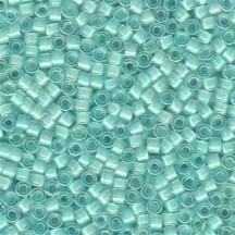 Delica 11/0 DB0078 Lined Aqua Mist