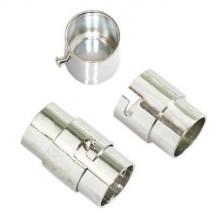Inchizatoare magnetica cu blocare 6mm argintie