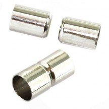 Inchizatoare magnetica 8mm argintie