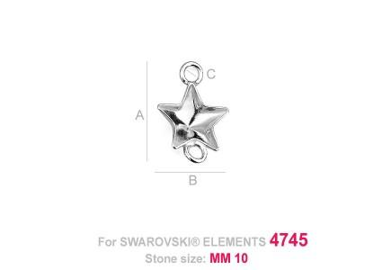 Baza Argint 925 Pentru Stea