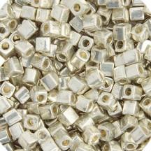 Miyuki Cube Galvanized Silver 1051
