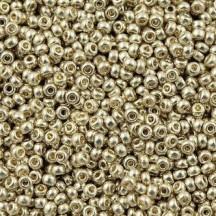 Margele de nisip Miyuki 15/0 Duracoat Galvanized Silver 4201