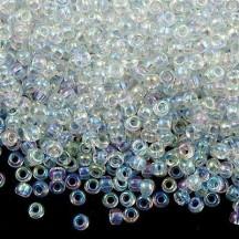 Margele de nisip Miyuki 15/0 Crystal AB 0250