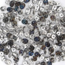 Superduo Crystal/Heliotrope H00030