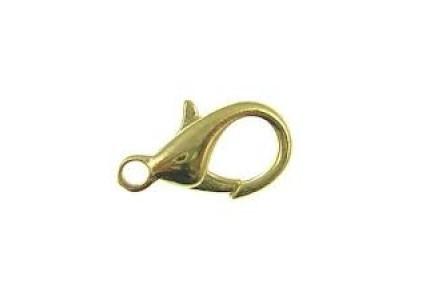 Inchizatoare Carabina Placata Cu Aur 12mm
