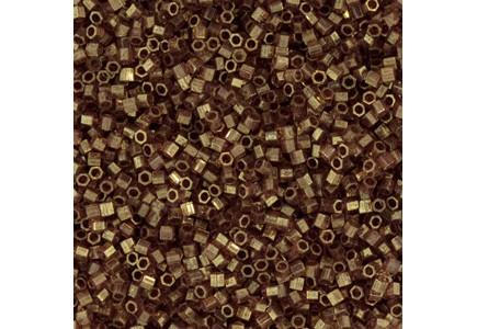 Delica Hexcut 11/0 DBC0115 Trans Luster Metallic Rose