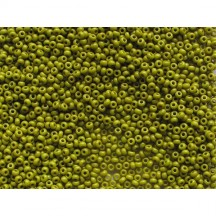 Margele De Nisip Preciosa Ornela 13/0 19001/53430 Opaque Olive Green