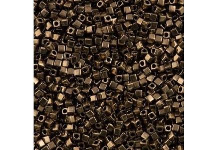 Miyuki Cube 3mm 0457 Metallic Dark Bronze