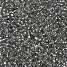 Margele de nisip Miyuki 11/0 0021L Silver Lined Lt Grey