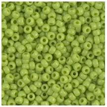 Margele de nisip Miyuki 11/0 0416 Opaque Chartreuse