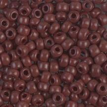 Margele de nisip Miyuki 11/0 0419 Opaque Red Brown