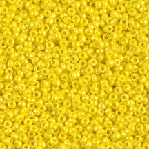 Margele de nisip Miyuki 11/0 0422 Opaque Luster Yellow