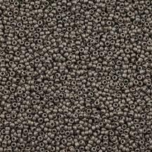 Margele de nisip Miyuki 11/0  0190F Matte Nickel Plated